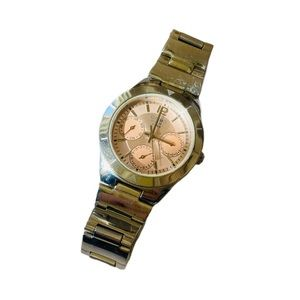 Vintage Casio rose gold stainless steel watch